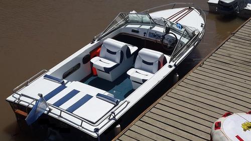 lancha femsa 590. motor ford v8 fase 2. pata volvo.wakeboard