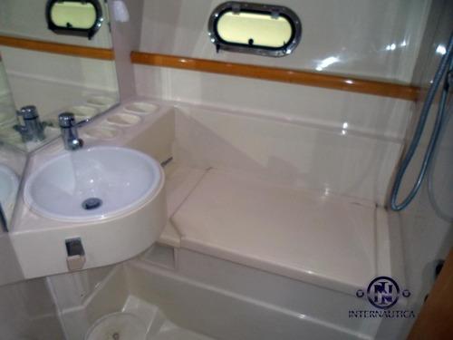 lancha ferretti 40 - intermarine azimut phantom real