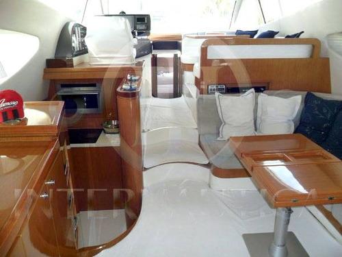 lancha ferretti 60 - intermarine azimut phantom real