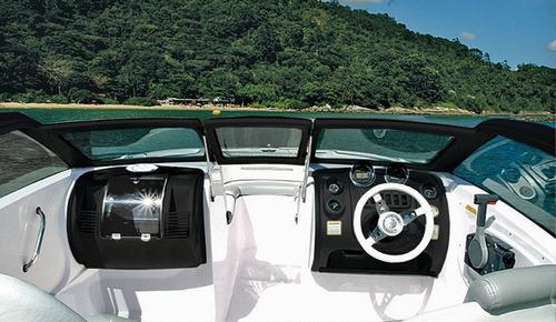 lancha fibrafort focker 210 com mercury 100 hp ct 4 tempos