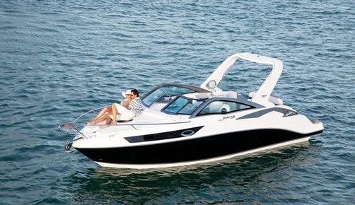 lancha fibrafort focker 275 + centro 260 hp mercury mpi 5.0