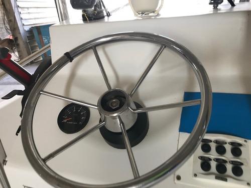 lancha fishing 19 pes 2018 com 4 horas de uso
