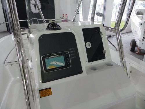 lancha fishing 21 cc mercury 115hp 4 tempos