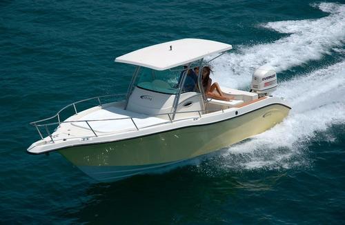 lancha fishing 265 saint tropez mercury optmax 200hp proxs