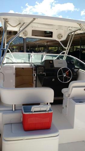 lancha fishing 28, ano 2010. 02 x 200hp - marina atlântica