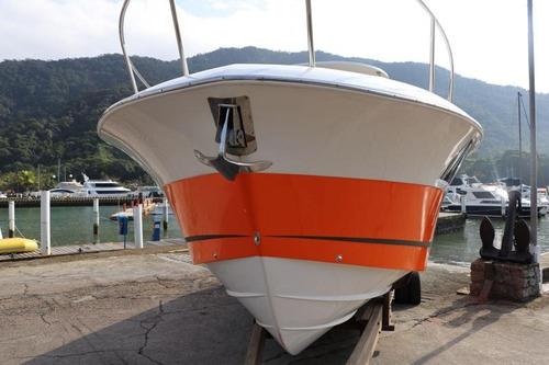 lancha fishing 33, ano 2016, 02 verado 300 -marina atlântica