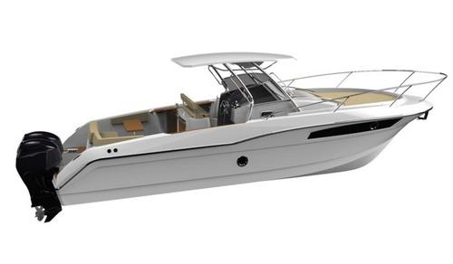 lancha fishing 33 st 2 x mercury 200 optimax pesca ñ sedna