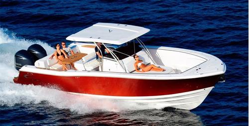 lancha fishing 375 solarium parelha mercury verado 300hp