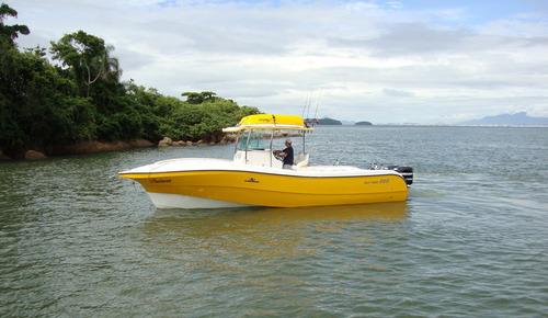 lancha flyfish 290 + yamaha 200hp 4t + mont. básica zero