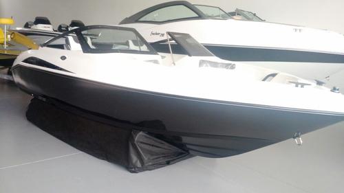 lancha focker 160 black edition com motor mercury 60hp
