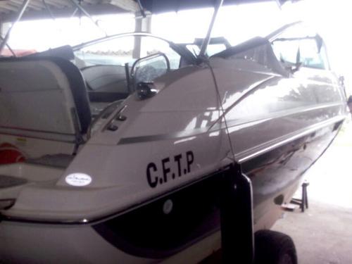 lancha focker 215 black c/ yamaha 150hp 4 tempos + carreta
