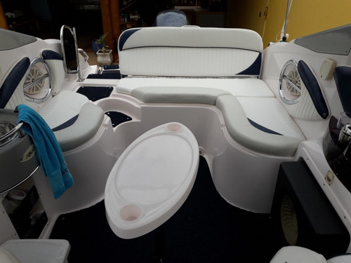 lancha focker 215 targa dvd fechamento banheiro eletrico