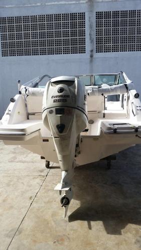 lancha focker 240 0km pronta entrega - marina atlântica