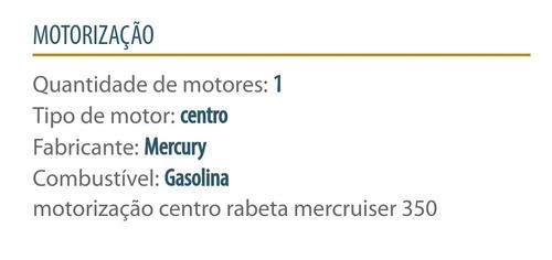 lancha focker 265 motor mercruiser 350