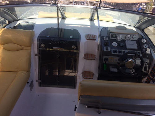 lancha focker 280, 2010 motor mercruiser - marina atlântica