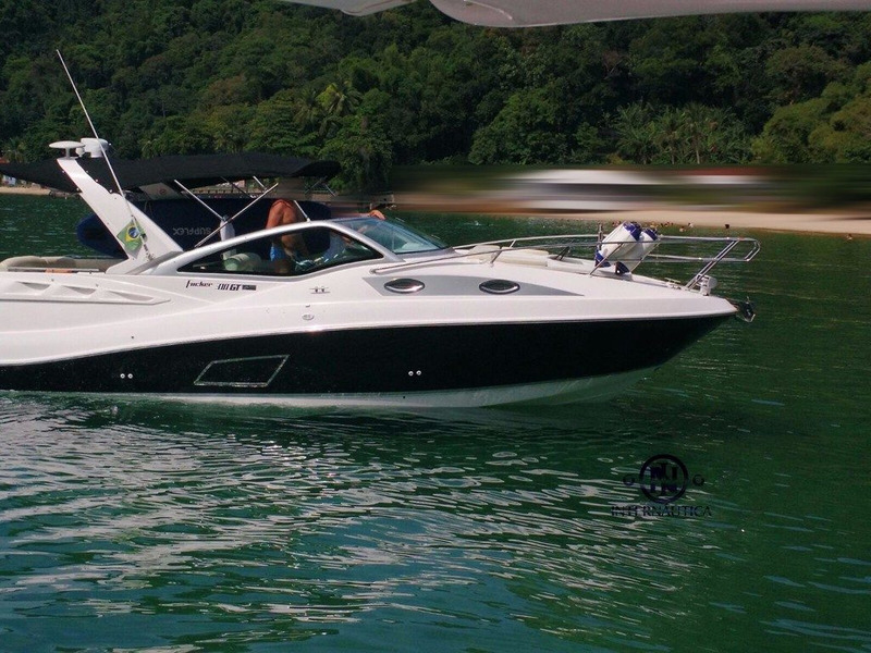 lancha focker 310 gt 2011 2 mercruiser 4.3l 220hp | phantom