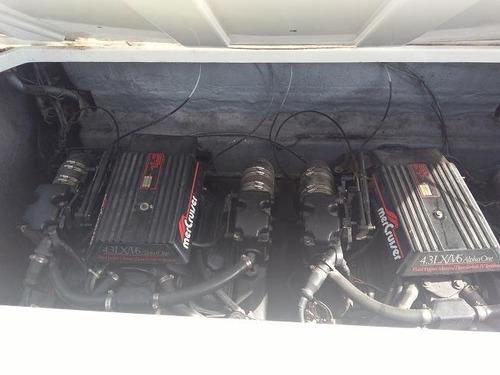 lancha formula gamma 27 2 motores repasados a nuevos!!!!