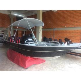 Lancha Fortboat Advance 520 Com Motor 60 Hp 4t Mercury