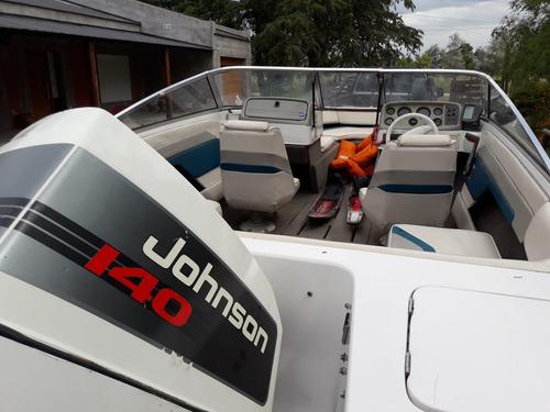 lancha four winns motor johnson 140 ¡¡¡permu por vehiculo!!!