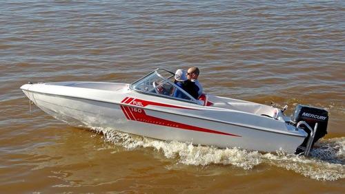 lancha fuel 160 sport (2018) + motor mercury 40 elo super