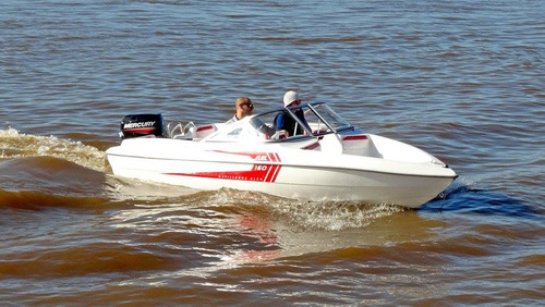 lancha fuel 160 sport + motor mercury 40 elo super