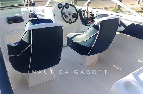 lancha g 490 open con motor yamaha 60 hp 4 tiempos 0km 2018