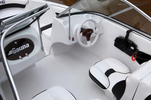 lancha geuna f 150 c/mercury 60 hp 2t bonificacion especial