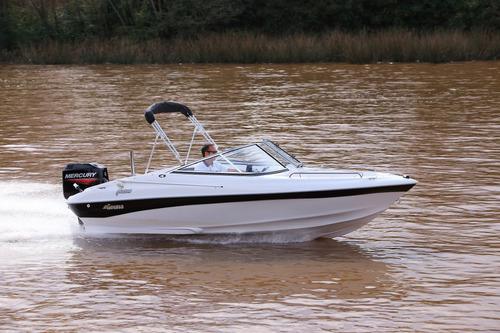 lancha geuna f160 c/mercury 60 hp 2t nueva