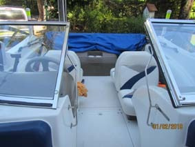 lancha glastron sx 175 impecable mercruiser 4,3  año 2000