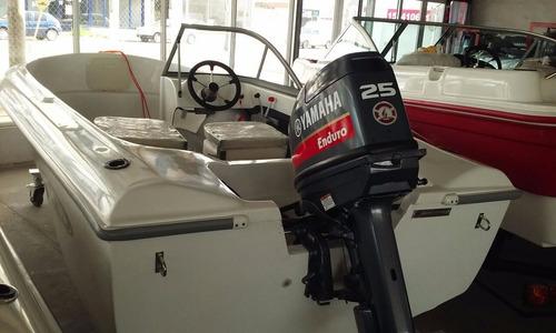 lancha grand jean con yamaha 25 hp 2t 0 km nauticajunin
