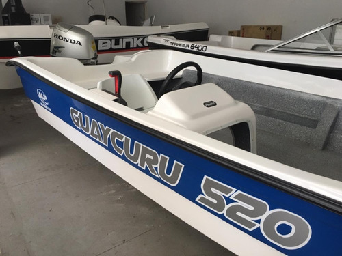 lancha guaycuru 520 nueva honda 50 hp usado
