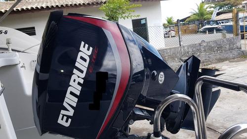 lancha hd 24 com motor evinrude 2014