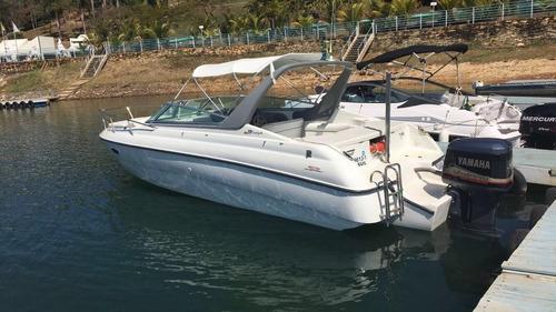 lancha hd 7.9 motor 250 somente agua doce escarpas do lago