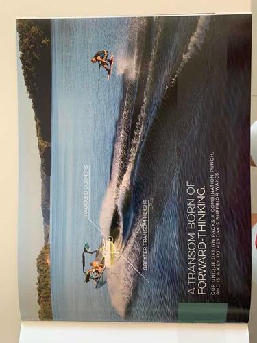 lancha heyday wakeboard y wakesurf con lastre auto. sin uso