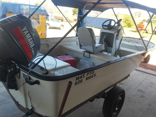 lancha iap - motor yamaha 40 enduro