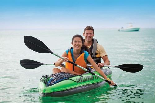 lancha inflable intex challenger k2 personas rio mar playa