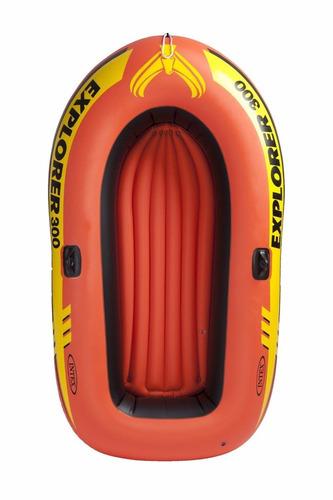 lancha inflable intex explorer 300 bote verano niños