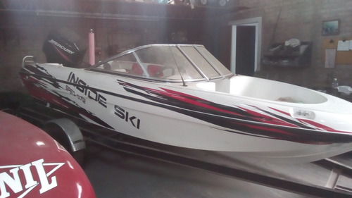 lancha inside 480 sin motor modelo 2015 100hs. nueva!!