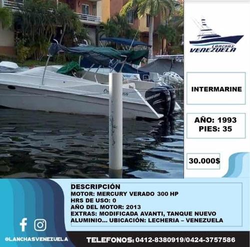 lancha intermarine 35 lv93