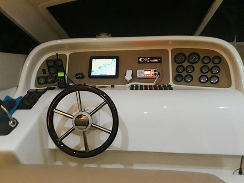 lancha intermarine 440 full 1999 - marina atlântica