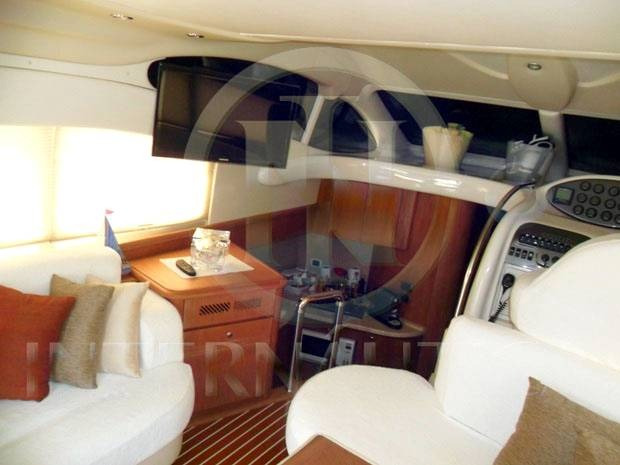 lancha intermarine 460 full - azimut ferretti real phantom