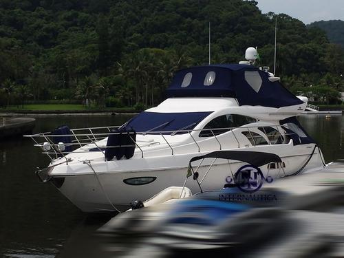 lancha intermarine 600 full - azimut ferretti real phantom
