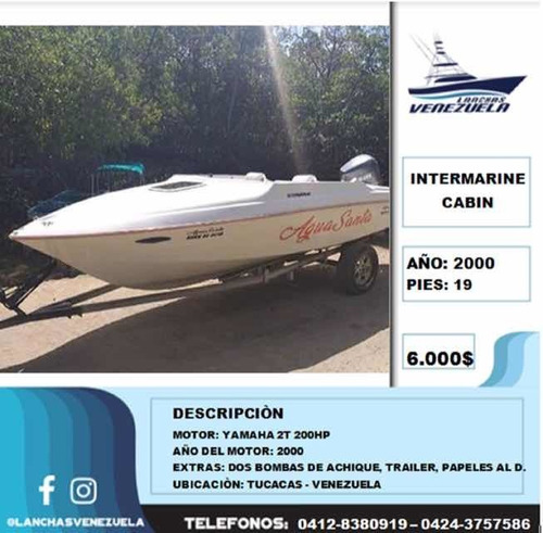 lancha intermarine cabin lv217