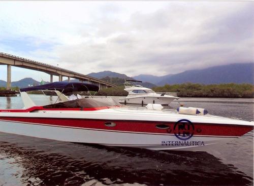 lancha intermarine cigarette 360 - cimitarra phantom triton