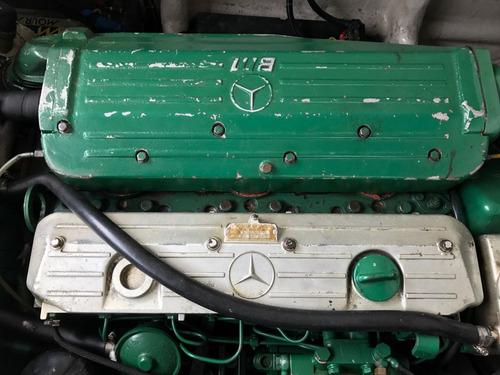 lancha intermarine cigarrete 1991 motor mercedes 366 - 115hp