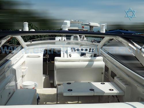 lancha intermarine excalibur 39 barco iate n phantom