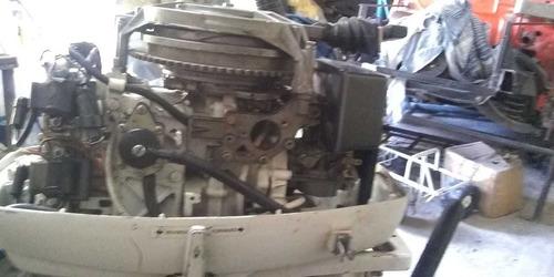 lancha, johnson 35 hp y trailer
