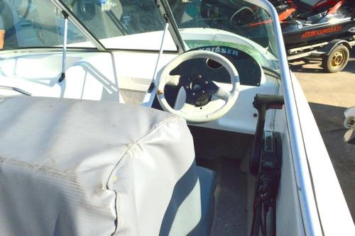 lancha kaisser 520 con motor mercury 50hp 4t