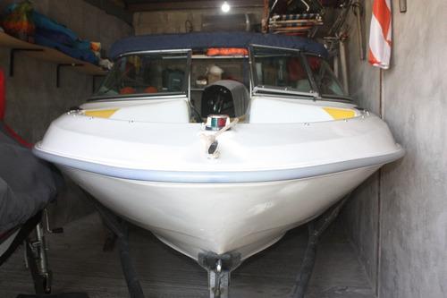 lancha larssen marine open con trailer
