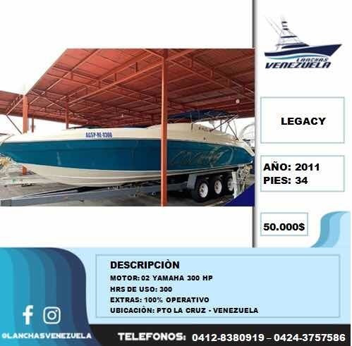 lancha legacy 34 lv214